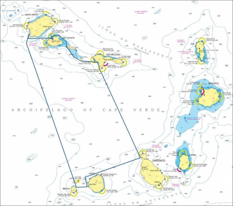 Wo Liegt Kapverden Karte.Start Kap Verde